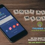 THUMBS UP Social Media Management profile image.