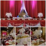 E. V. Events and Rentals profile image.