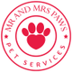 Mr and Mrs Paws logo