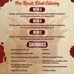 Pro roasts event catering profile image.