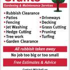 Grants gardening   Maintenance services