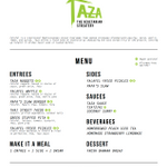 Taza Vegetarian Streatery profile image.