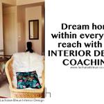 La Chaise Bleue Interior Design profile image.
