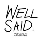 WellSaid Designs logo