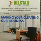 Allstar cleaning services logo