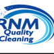 RNM QUALITY CLEANING logo