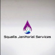 Squalls janitorial services logo