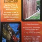 Better Holmes. Tree, Garden & Exterior Property Maintenance