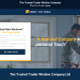 The Trusted Trader Window Company. logo