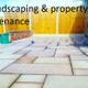 L J Landscaping & property maintenance logo