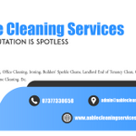 Aable Cleaning Services profile image.