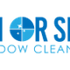 Rain or shine window cleaning logo