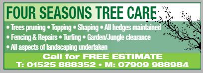 Four seasons tree care profile image.