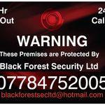 Black forest security Ltd profile image.
