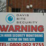 Davis Site Security Limited profile image.