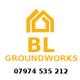 BL Groundworks logo