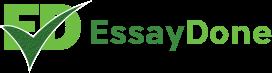 Essay Done logo