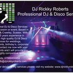 DJ Rickky Roberts profile image.