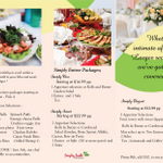 Simply South Catering profile image.
