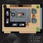 Crisp and Raw Design Studio profile image.