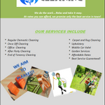 Lwane Cleaning Services profile image.
