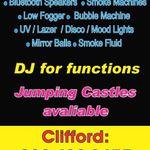 Cliffs Disco Sound & Lighting profile image.