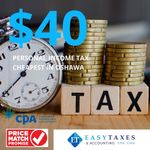 Easy Taxes & Accounting profile image.