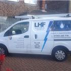 L.h.f electrical services logo