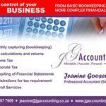 JG Accounting (Pty) Ltd profile image.