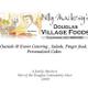 Douglas Village Foods logo