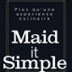 Maid it Simple logo