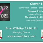 Clever Tutors  Glasgow profile image.