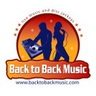 Back to Back Music and Photo Booths logo