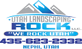 Utah Landscaping Rock logo