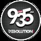 Revolution 93.5 FM logo