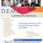 DEMO Community Services profile image.