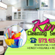 Kim's Cleaning Service logo