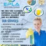 EPLA Cleaning Services profile image.