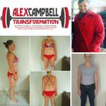 Alex Campbell Transformation profile image.