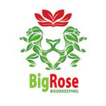 Big Rose Bookkeeping profile image.