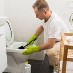 Commercial Bathroom Cleaning profile image.