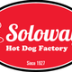Soloway's hot dog factory logo