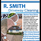 R smith driveway cleaning