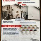 Renovate wall coatings