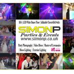 Simon P Parties and Events profile image.
