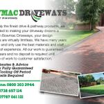 Bowmac driveways ltd profile image.