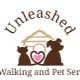 Unleashed Dog Walking and Pet Care Services logo