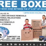 A&B Movers profile image.