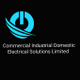 Commercial industrial domestic electrical solutions limited logo