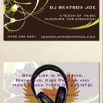 Dj BeatBox Joe profile image.